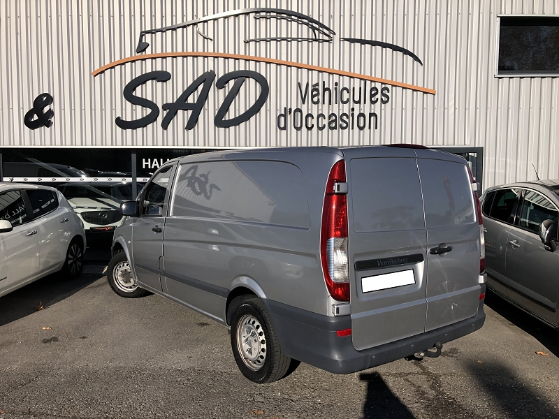Photo 2 de l'offre de MERCEDES-BENZ VITO FG 116 CDI LONG PRO à 16990€ chez SAD