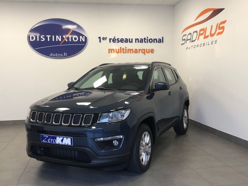 Jeep COMPASS 1.6 MULTIJET II 120CH LONGITUDE BUSINESS 4X2 EURO6D-T Diesel BLUE SHADE Occasion à vendre